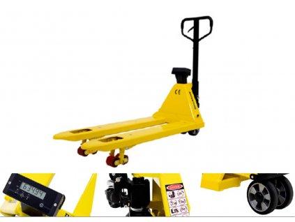 vážiaci paletový vozík