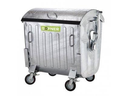 Plechové kontejnery na odpad