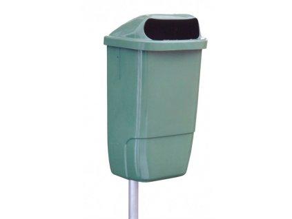 Plastové venkovní odpadkové koše