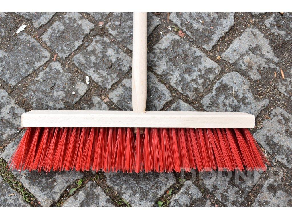 Dřevěné koště (smeták) malé 40 cm