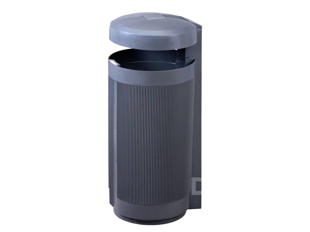 Odpadkový koš PRIMA LINEA  50 l, šedý