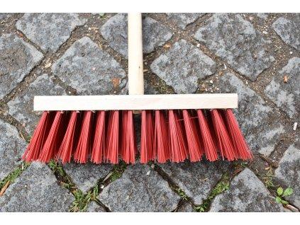 Dřevěné koště (smeták) malé 30 cm