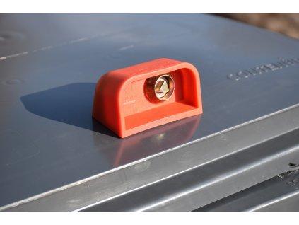 Zámek na popelnici - automatický