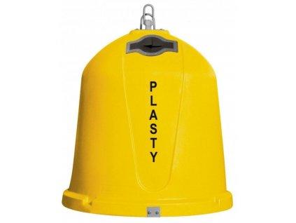 Zvonový kontejner - ZVON 1,5 m3 ŽLUTÝ - PLASTY