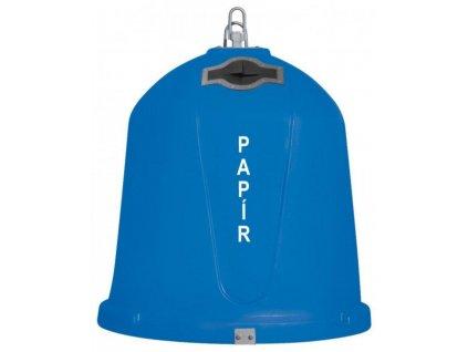 Zvonový kontejner - ZVON 1,5 m3 MODRÝ - PAPÍR