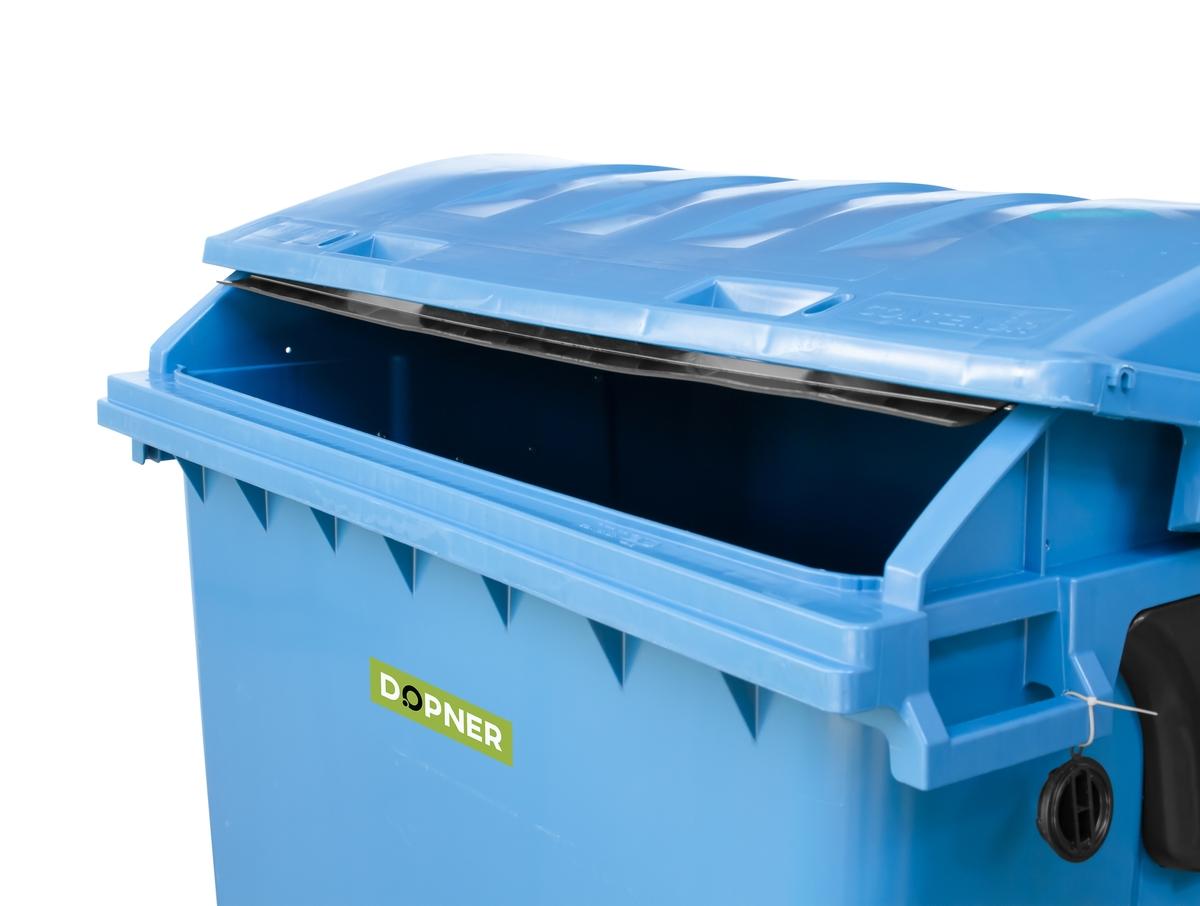 Kontejner 1100 l plastový DOPNER, modrý