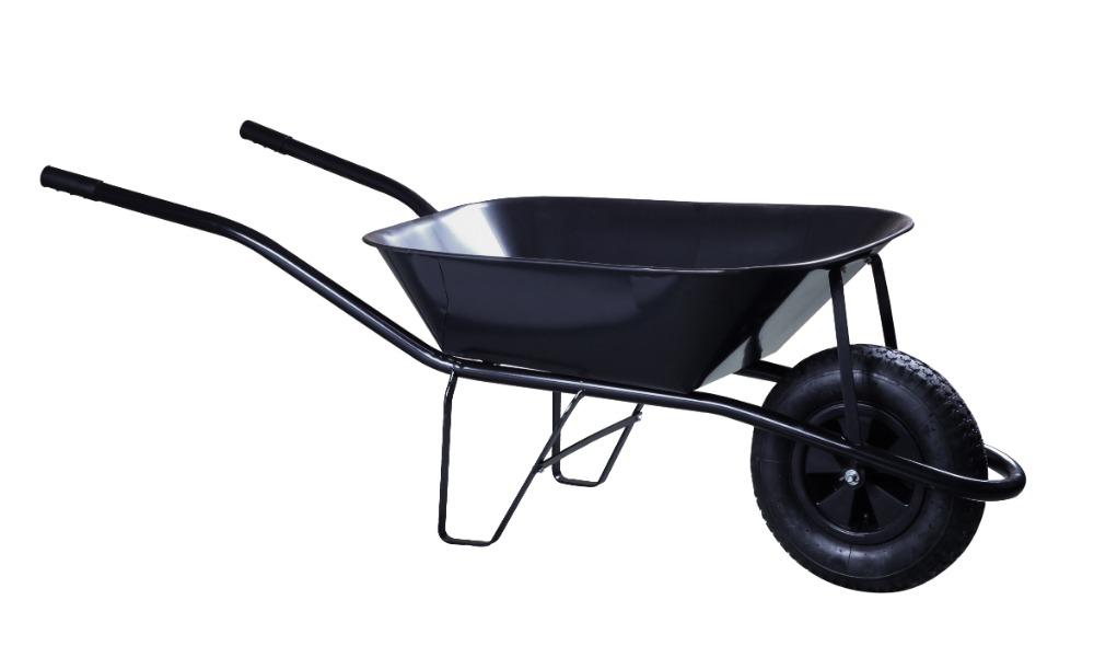 Kolečko stavební - 60 l korba, nafukovací kolo
