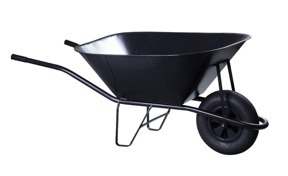 Kolečko stavební - 150 l korba, nafukovací kolo