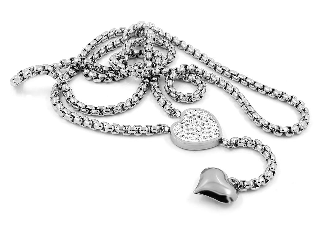 Atraktivní dámský náhrdelník - Chirurgická ocel