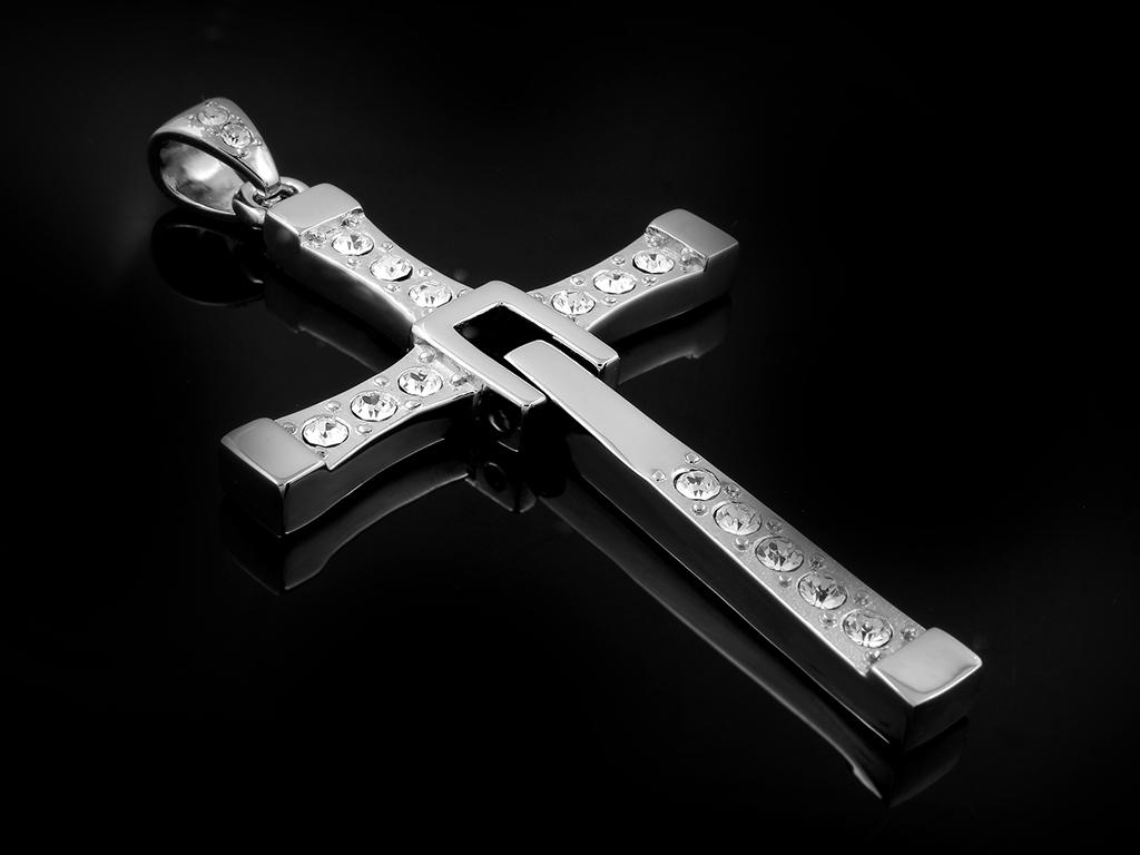 Křížek z filmu Rychlé a zběsilé - Chirurgická ocel + Doprava ZDARMA