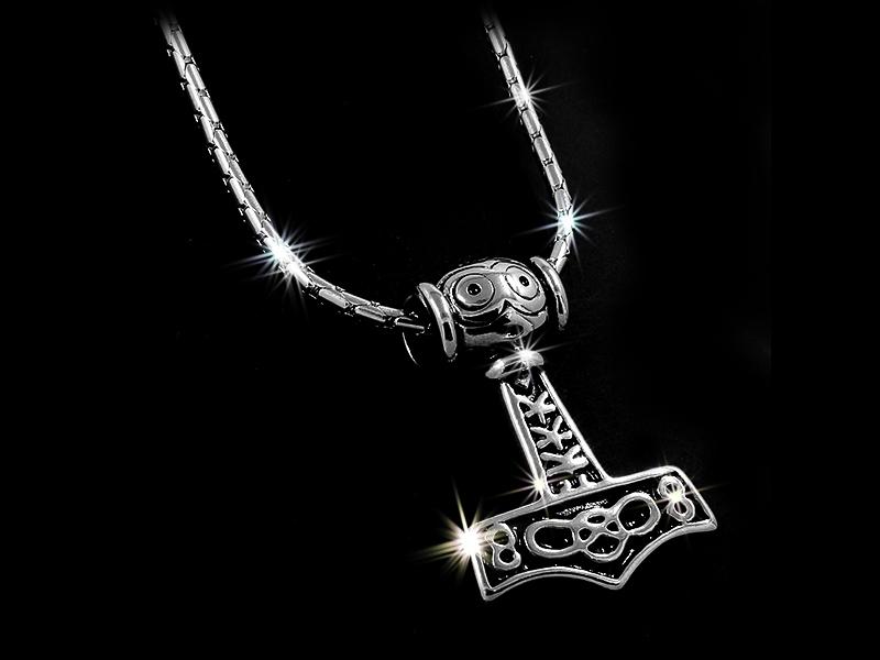 Přívěsek Vikingské kladivo - Chirurgická ocel + Řetízek zdarma + Doprava zdarma + Dárkové balení zdarma