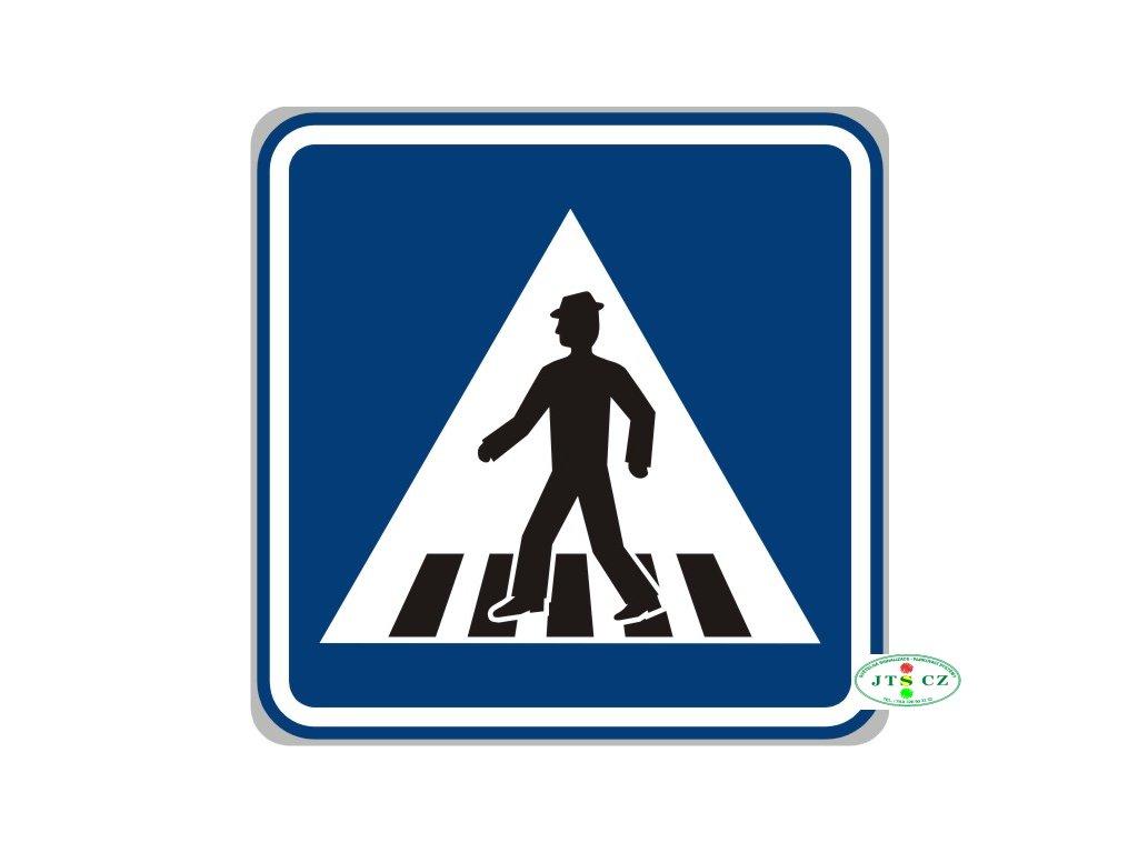 Dopravní Značka IP6 - 2.třída Přechod pro chodce