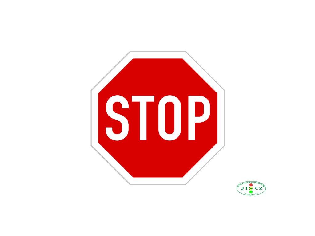 Dopravní Značka P6 Stůj, dej přednost v jízdě