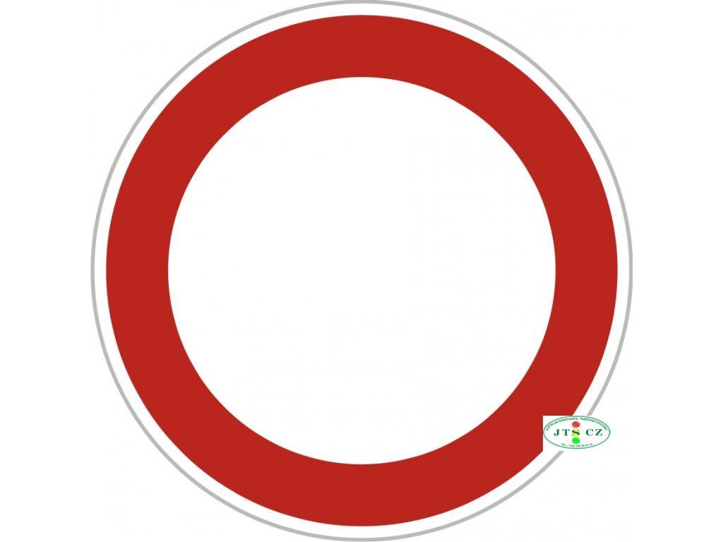 Dopravní Značka B1 Zákaz vjezdu všech vozidel