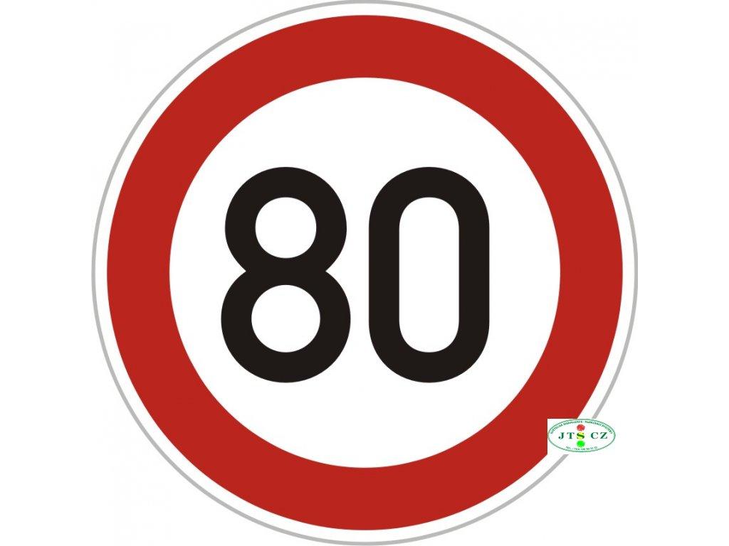Dopravní Značka B20a - 2.třída Nejvyšší dovolená rychlost