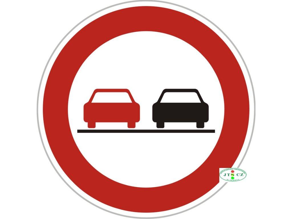 Dopravní Značka B21a Zákaz předjíždění