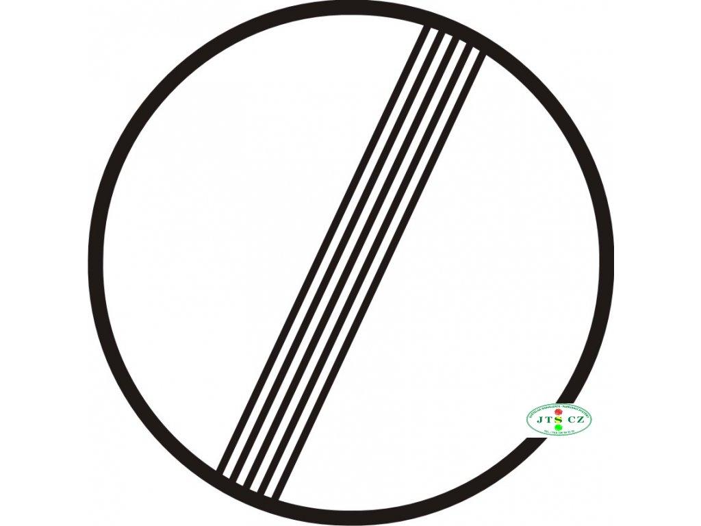 Dopravní Značka B26 Konec všech zákazů