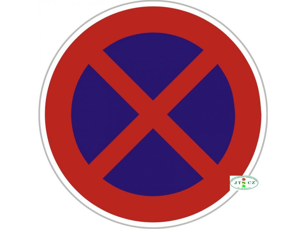 Značka B28 - 2.třída Zákaz zastavení