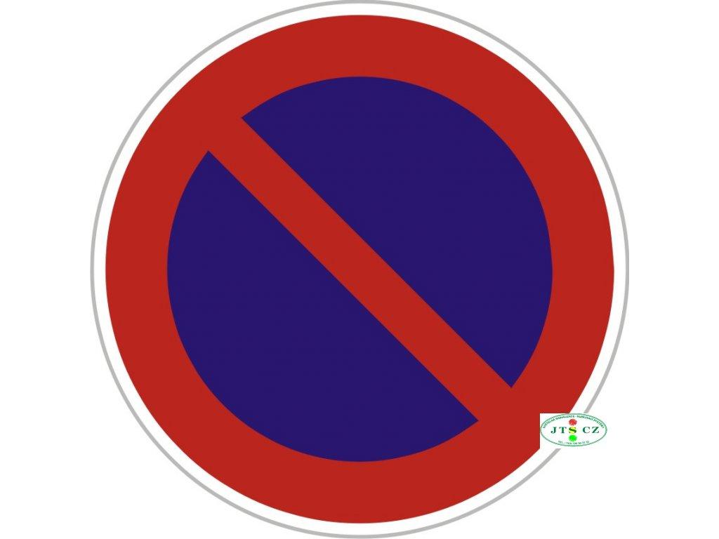 Značka B29 - 2.třída Zákaz stání