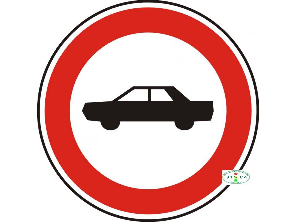 Dopravní Značka B3b 500 mm Zákaz vjezdu osobních automobilů