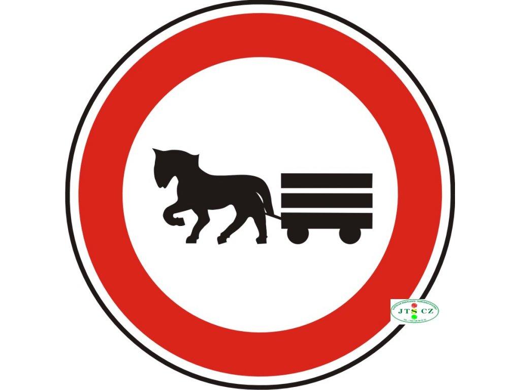 Dopravní Značka B9 500 mm Zákaz vjezdu potahových vozidel