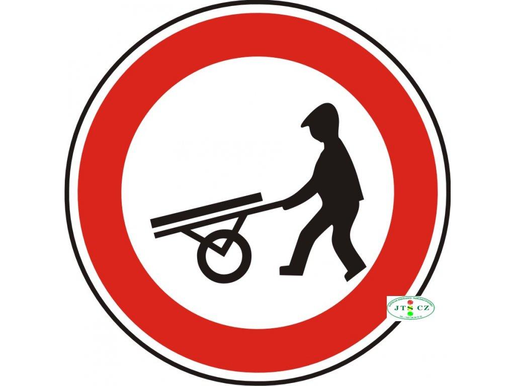 Dopravní Značka B10 Zákaz vjezdu ručních vozíků