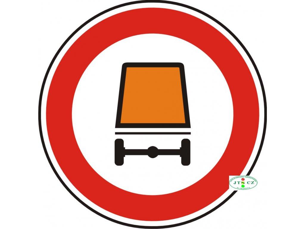 Dopravní Značka B18 Zákaz vjezdu vozidel přepravujících nebezpečný náklad