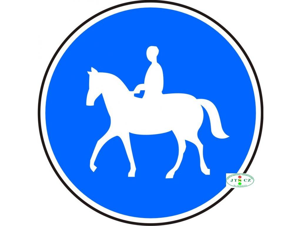 Dopravní Značka C11a 500 mm Stezka pro jezdce na zvířeti
