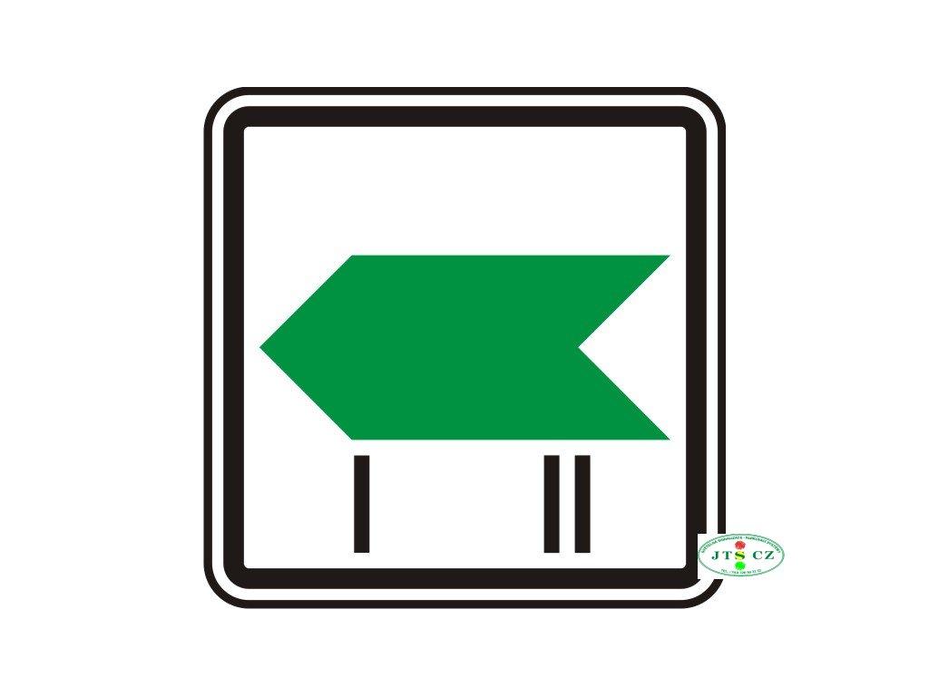 Dopravní značka IP1b Změna směru okruhu