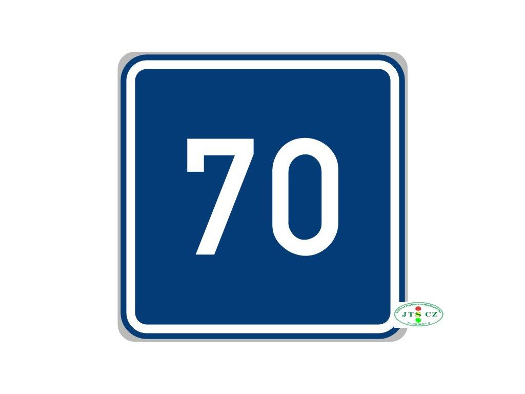 Dopravní značka IP5 Doporučená rychlost