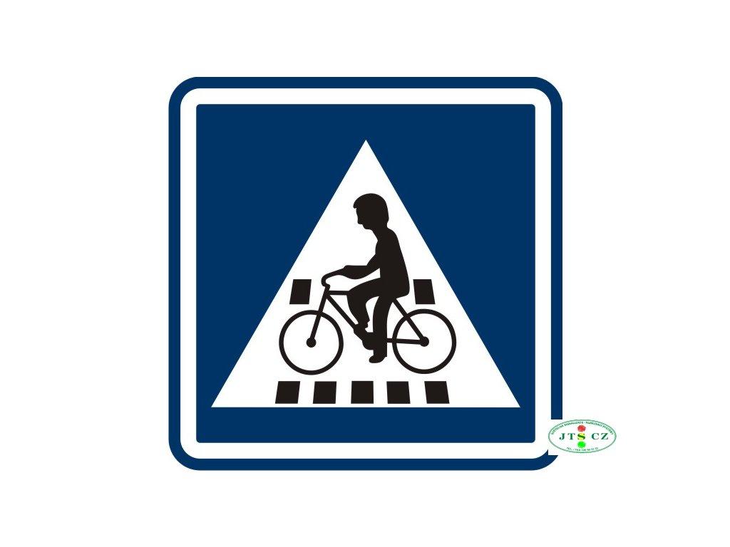 Dopravní značka IP7 Přejezd pro cyklisty