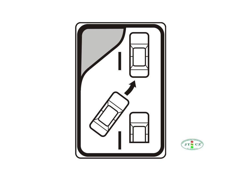 Dopravní značka IP29 Střídavé řazení (ZIP)