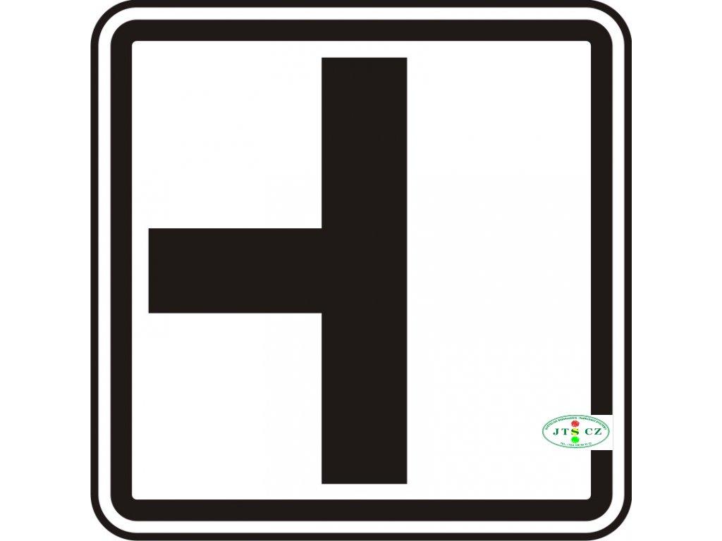 Dopravní Značka E2a Tvar křižovatky