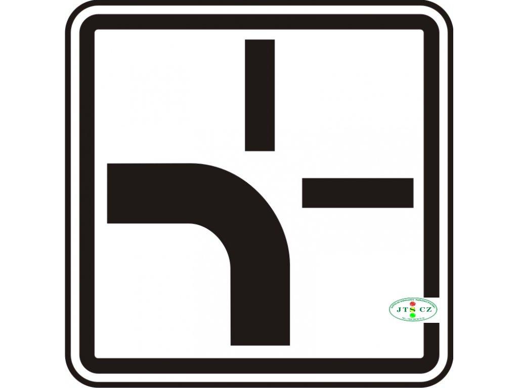 Dopravní Značka E2b Tvar křižovatky