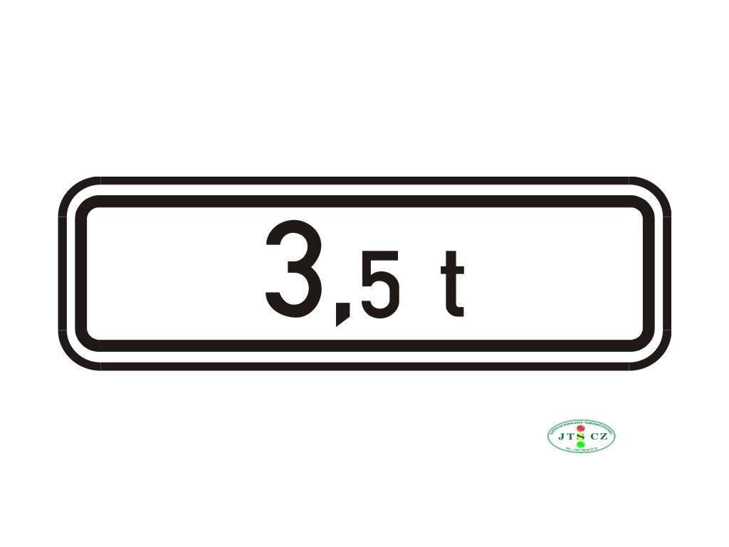 Dopravní Značka E5 Celková hmotnost
