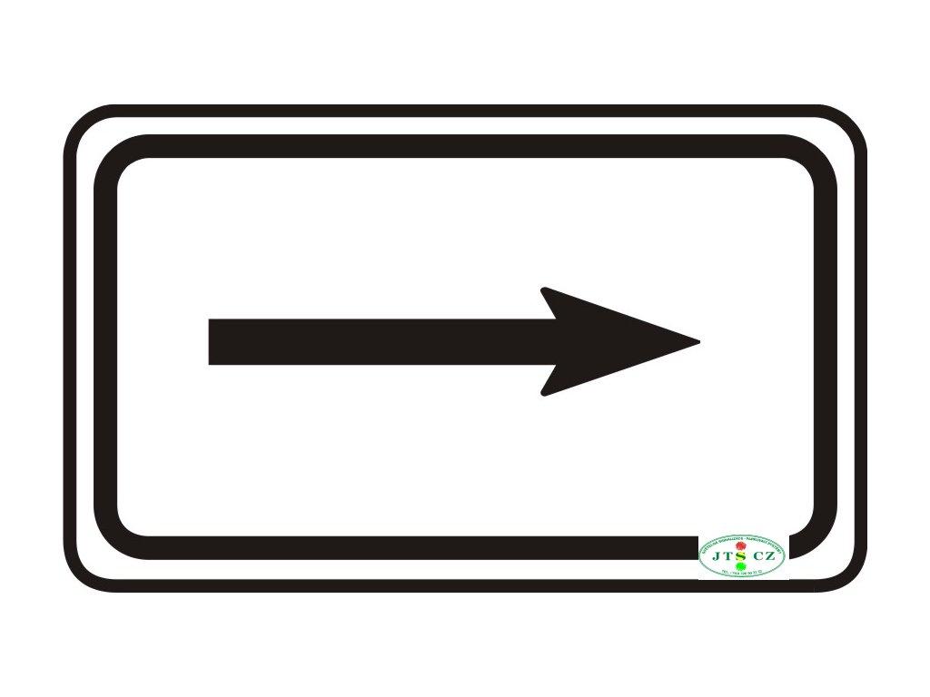 Dopravní Značka E7b Směrová šipka