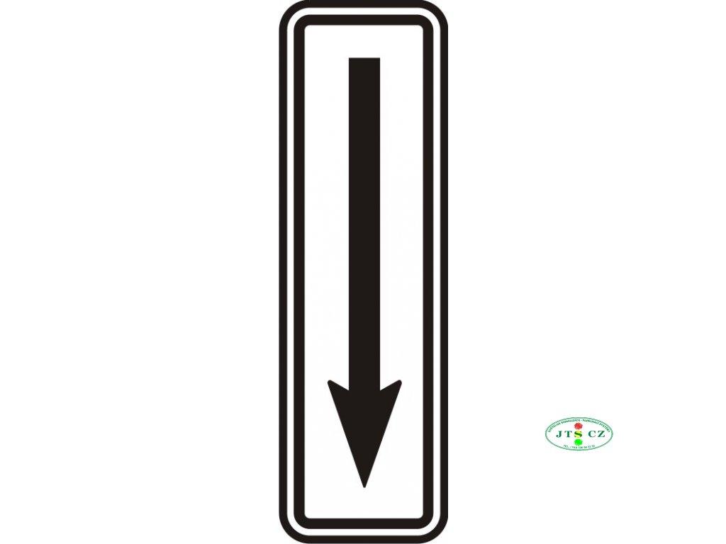 Dopravní Značka E8c Konec úseku