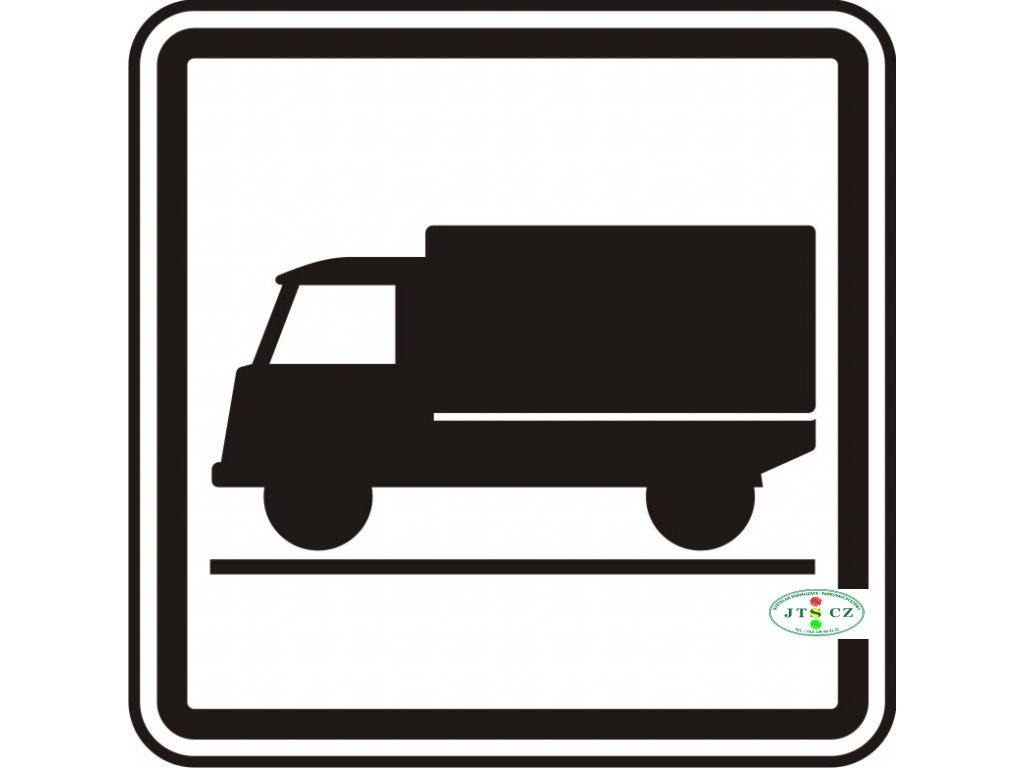 Dopravní Značka E9 Druh vozidla