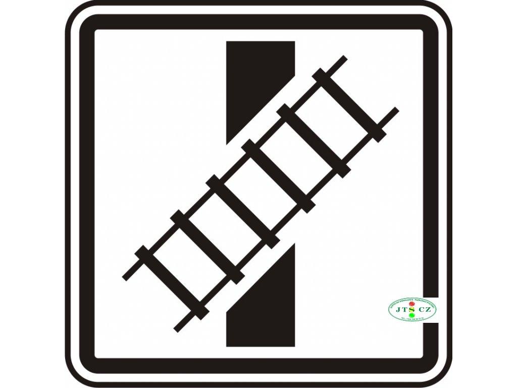 Dopravní Značka E10 Tvar křížení pozemní komunikace s dráhou