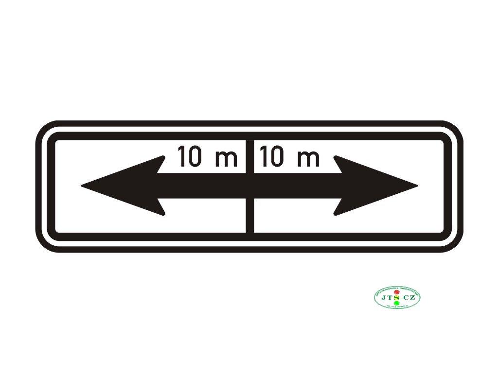 Dopravní Značka E8e Úsek platnosti
