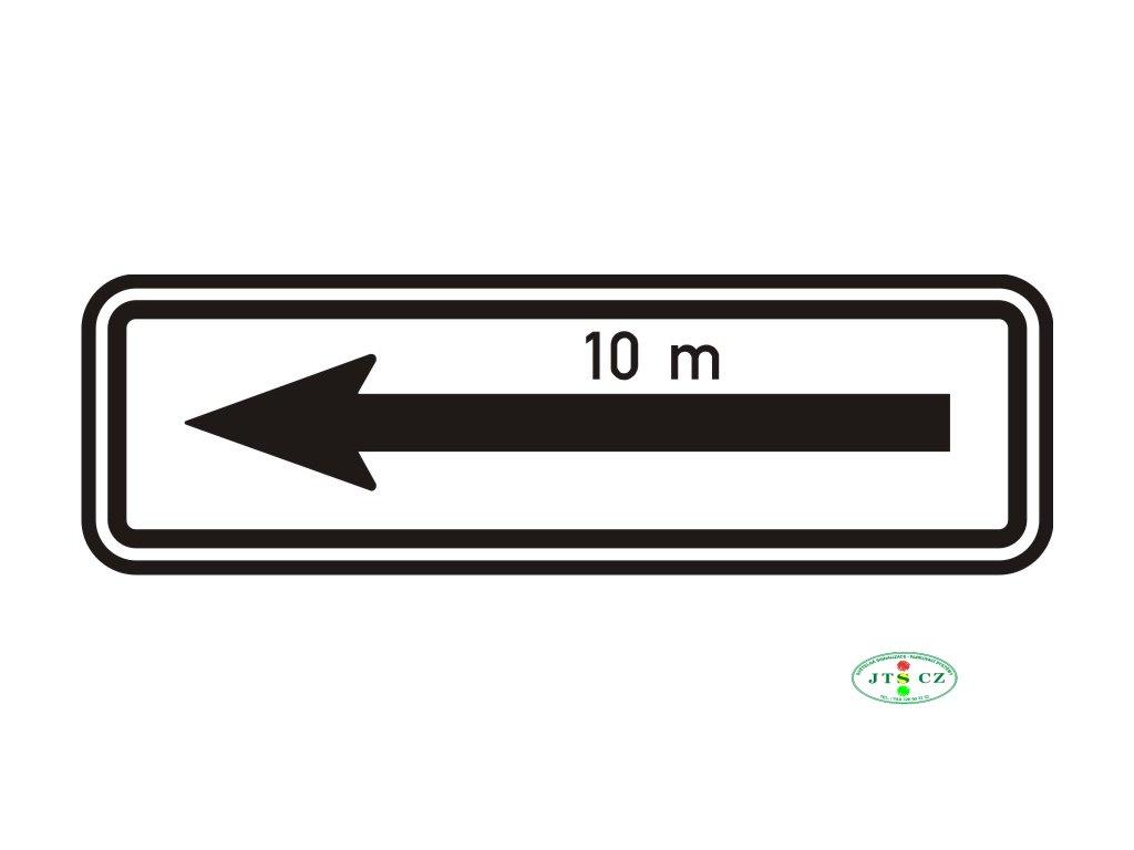 Dopravní Značka E8d Úsek platnosti