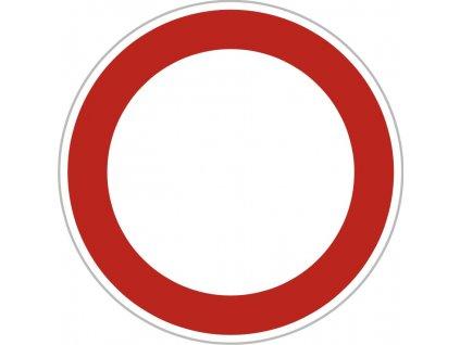 Dopravní Značka B1 500 mm Zákaz vjezdu všech vozidel - v obou směrech