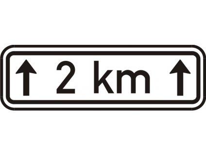 Dopravní Značka E4 Délka úseku