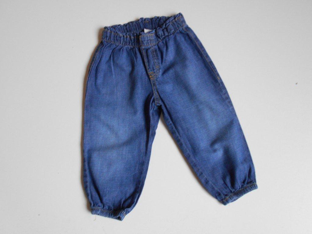17912 divci dzinove letni kalhoty h m vel 80