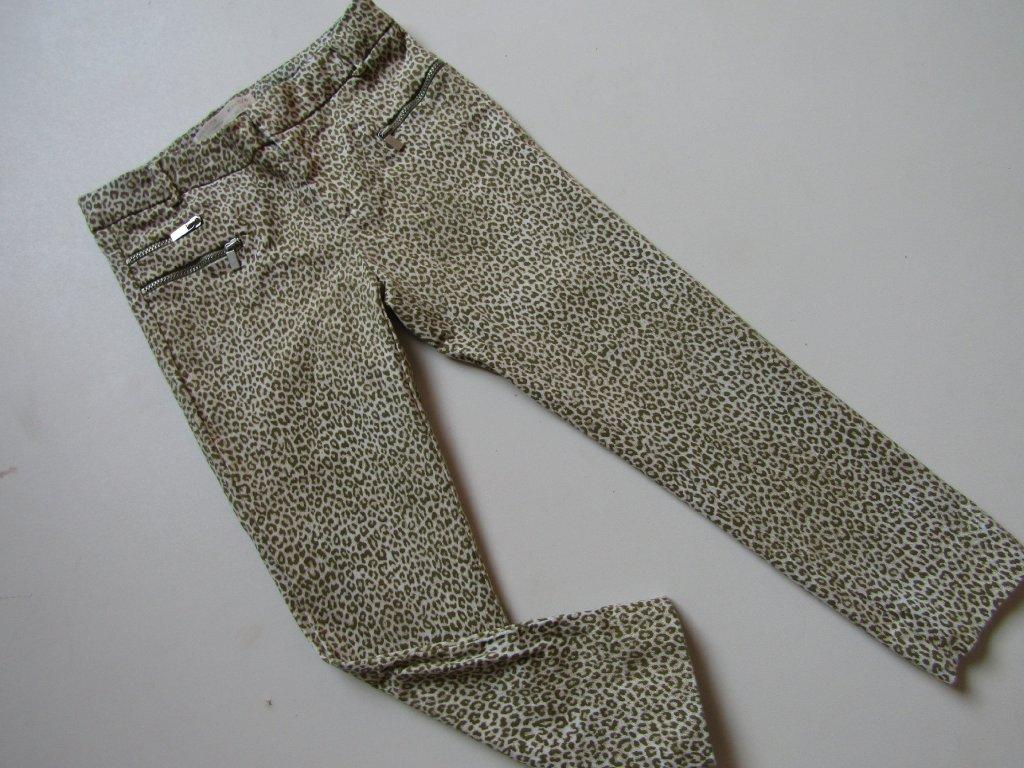 28184 divci elasticke kalhoty zara nove vel 110
