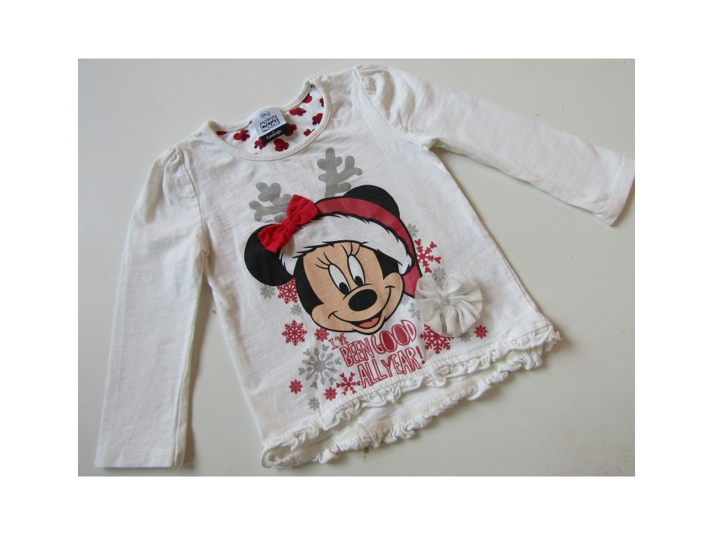 15872 divci tricko minnie mouse vel 152 158