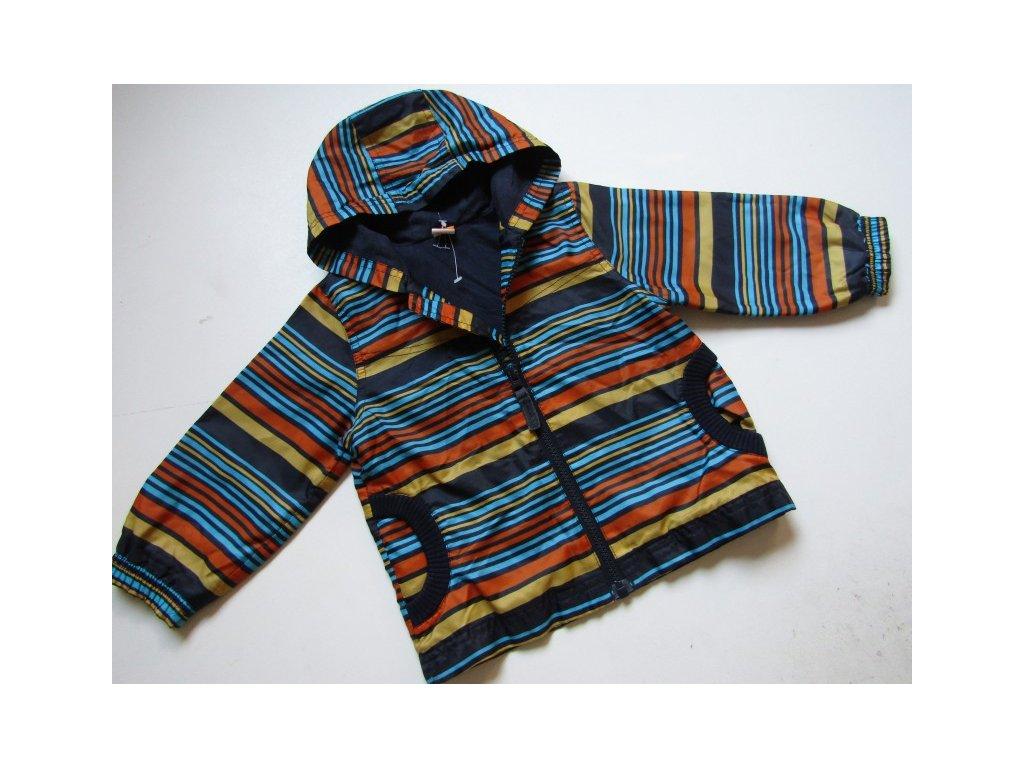 44597 chlapecka bunda podzim jaro mini mode vel 80 86