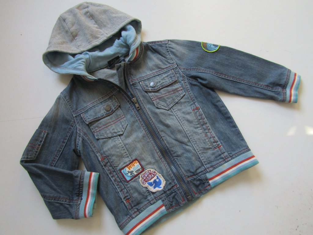 Chlapecká džínová bunda-NEXT ... VEL-98-104