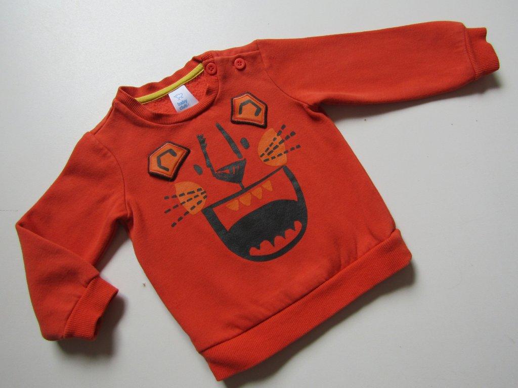 23954 chlapecka mikina baby vel 74