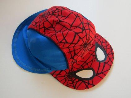 23522 chlapecka plavecka cepice spiderman vel 92 104